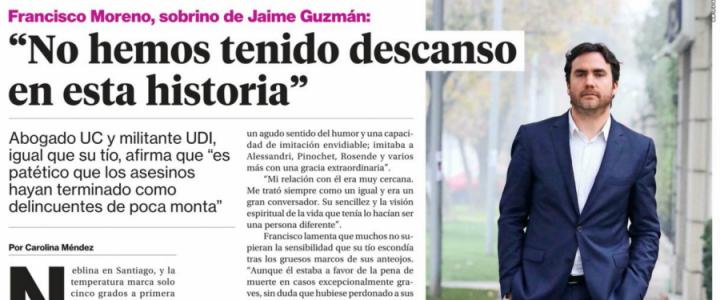 Francisco Moreno: No hemos tenido descanso en esta historia