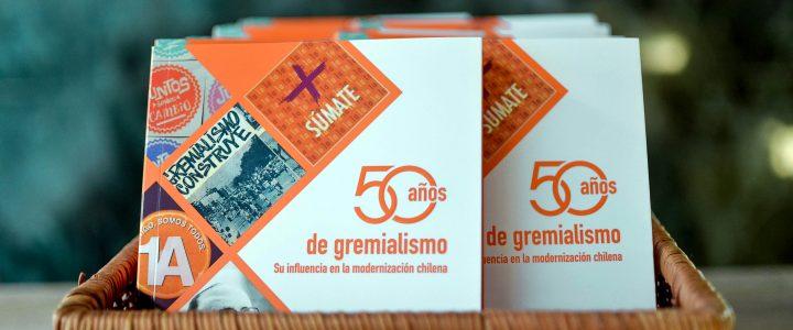 Gremialismo conmemora 50 años de existencia con presentación de libro