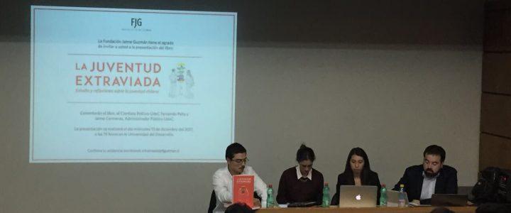 """Libro """"La juventud extraviada"""" fue presentado en Concepción"""