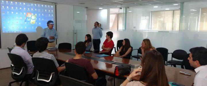 Visita de Escuela de Verano de Secundarios de la Fundación Jaime Guzmán a la Municipalidad de Las Condes