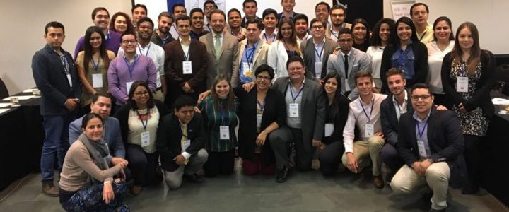 Coordinador de Movamos participa en VI Foro Regional Juventud y Democracia