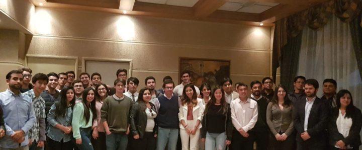 Claudio Arqueros participa en inauguración Escuela de Liderazgo para Líderes Gremialistas