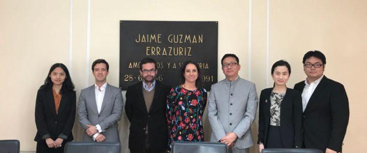 Claudio Arqueros comparte con Delegación de Huaqiao University