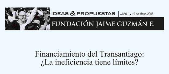 Financiamiento del Transantiago: ¿La ineficiencia tiene límites?