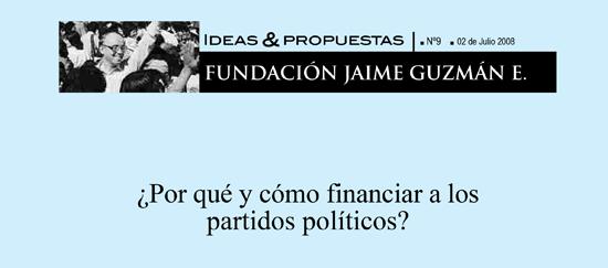 ¿Por qué y cómo financiar a los partidos políticos?