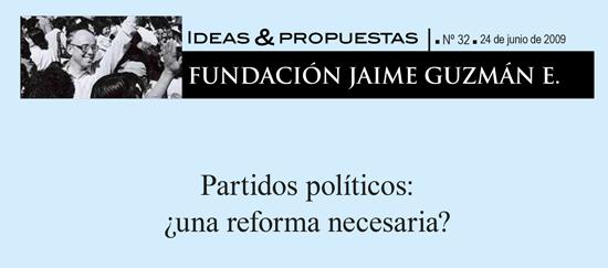 Partidos políticos: ¿una reforma necesaria?