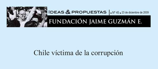 Chile víctima de la corrupción