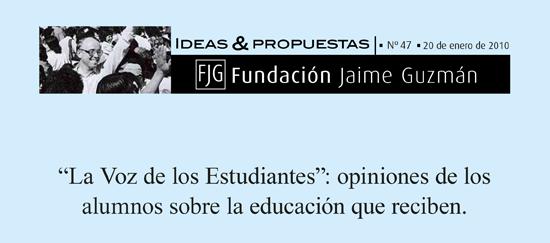 «La Voz de los Estudiantes»: opiniones de los alumnos  sobre la educación que reciben