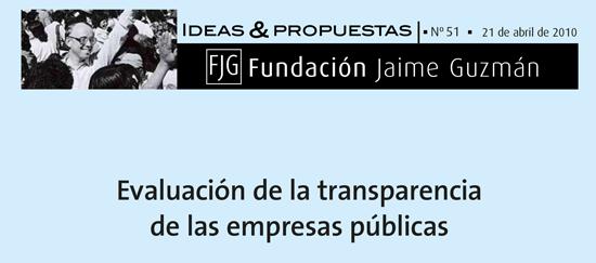 Evaluación de la transparencia de las empresas públicas
