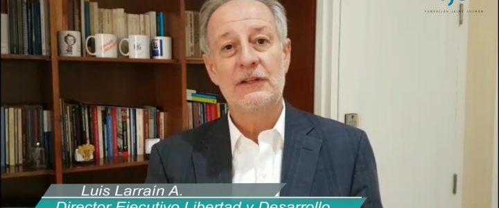 Luis Larrain: «La derecha tiene que aprender a manejar los sentimientos en política»