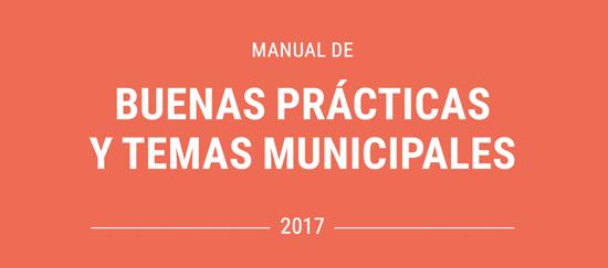 Manual de buenas prácticas y temas municipales