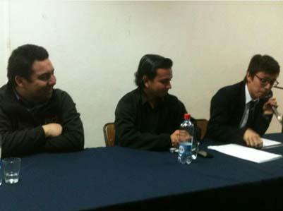 Jorge Barrera participa en foro sobre el Movimiento estudiantil