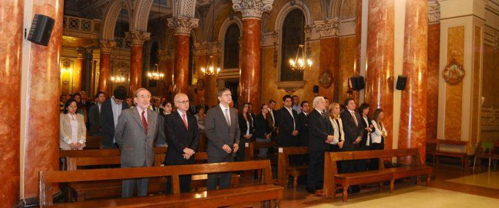 Fundación realiza misa en honor a Jaime Guzmán a 23 años de su muerte