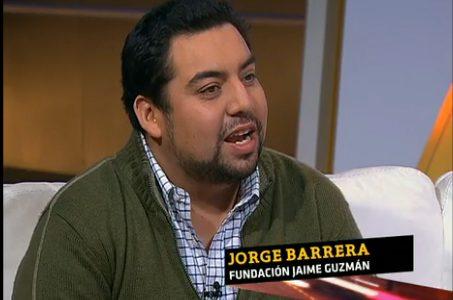 Jorge Barrera, debate en Vía Pública, TVN 24 horas