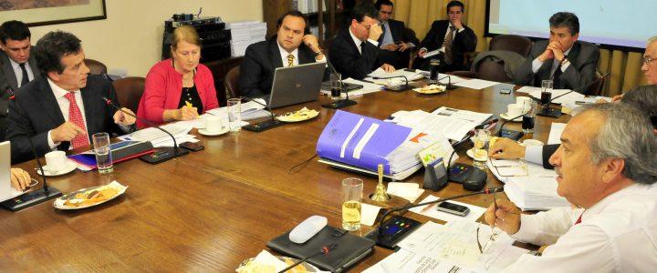 Máximo Pavez, expone ante la comisión de Minería y Energía de la Cámara