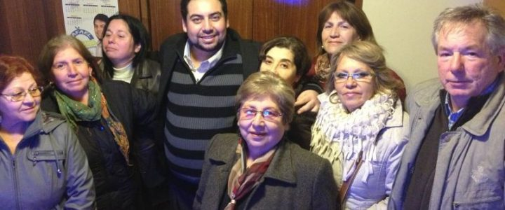 Visita de Jorge Barrera a la VIII Región