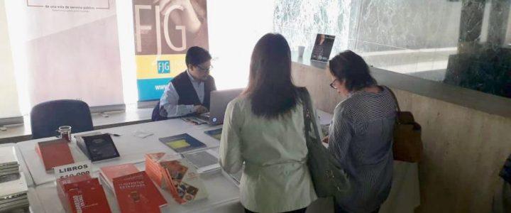 FJG dijo presente en VI Feria de los Buenos Libros