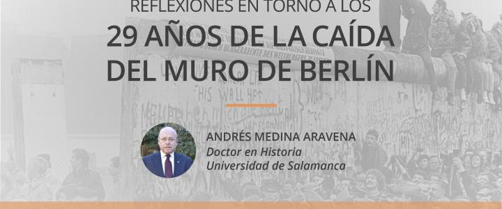 FJG realizará charla sobre los 29 años de la caída del muro en Concepción