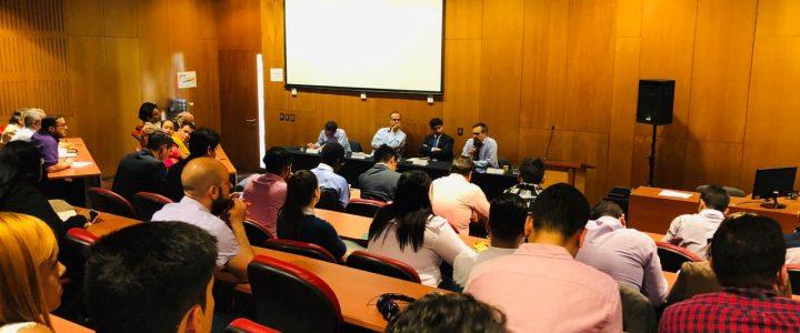 Claudio Arqueros expuso en seminario sobre América Latina