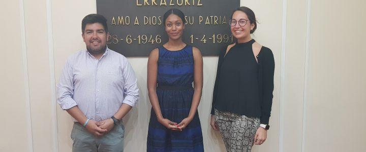 Segunda secretaria de Asuntos Políticos de laEmbajada De EEUU visita Fundación Jaime Guzmán