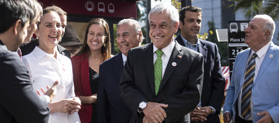 RED, Nuevo Transporte para Santiago.