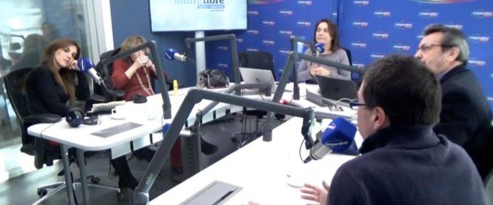 Directores de FJG debaten sobre política en Radio Cooperativa y La Clave