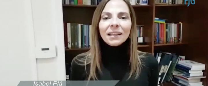 Isabel Plá nos explica la Agenda Mujer del Gobierno