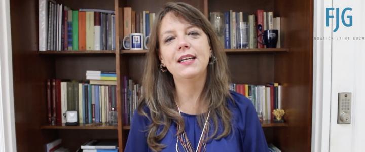 Ena Von Baer en Fundación Jaime Guzmán