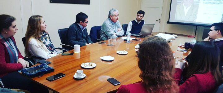 Gonzalo Cordero visitó la FJG
