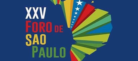 Versión XXV del Foro de Sao Paulo: Cómplices de un Dictador
