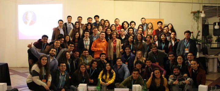 Más de 60 estudiantes gremialistas se reúnen en Mantagua