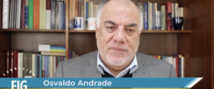 Osvaldo Andrade visita Fundación Jaime Guzmán