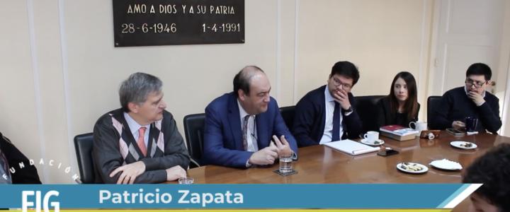 Patricio Zapata en Taller de Coyuntura FJG