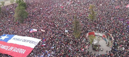 Crisis política y social en Chile