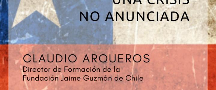 Claudio Arqueros expondrá en Buenos Aires sobre crisis social