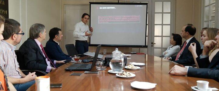 Director Ejecutivo de Criteria Research visitó la FJG
