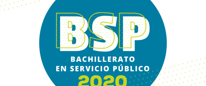 Nueva versión del Bachillerato en Servicio Público