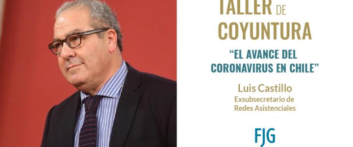Luis Castillo expuso por avance de Coronavirus en Chile