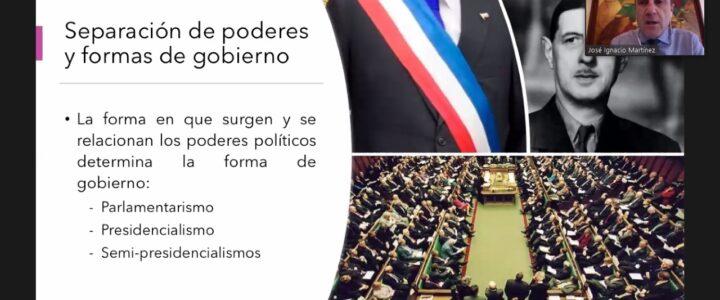 Con éxito comenzó el ciclo «Chile Constituyente: ¿Hacia dónde vamos?»