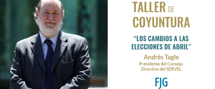 Andrés Tagle conversó con la FJG sobre las elecciones de abril