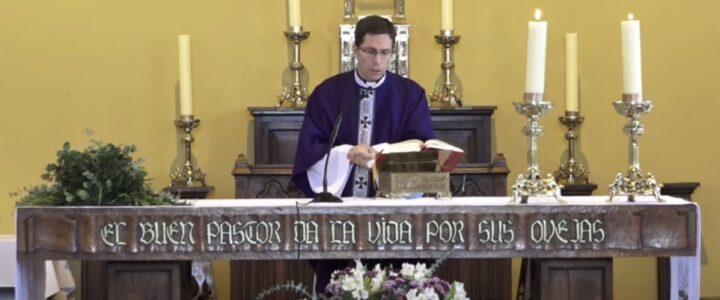 Con éxito se realizó misa online en memoria de Jaime Guzmán