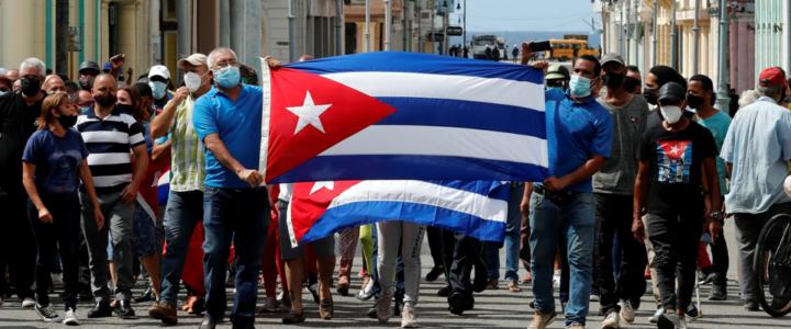 El «estallido» cubano